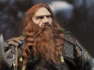 Gimli Lord Of The Rings Asmus 1/6 Articulado Eslr Pedido
