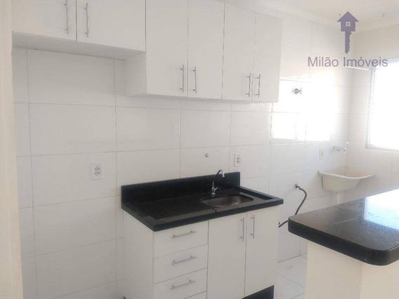 Apartamento Com 2 Dormitórios Para Alugar, 49 M² Por R$ 700/mês - Condomínio Parque Sicilia - Campolim - Sorocaba/sp - Ap1006