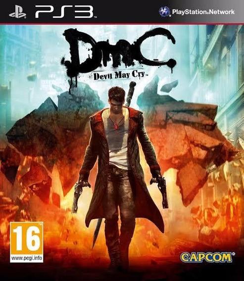 Devil May Cry 5 Ps3 Mídia Física Pronta Entrega Lacrado