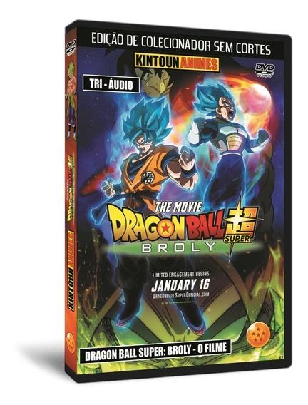 Dvd Dragon Ball Super: Broly - O Filme Dublado Hd
