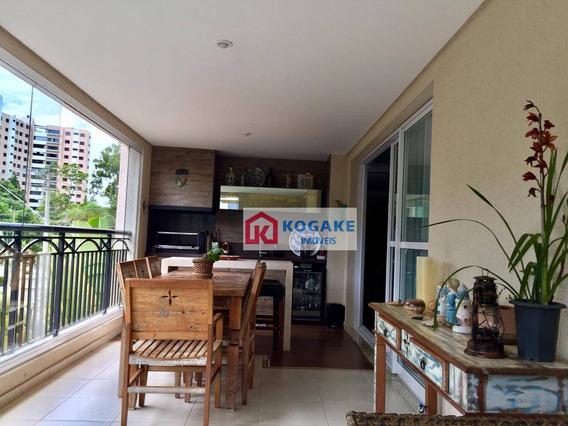 Apartamento Com 3 Dormitórios À Venda, 172 M² Por R$ 1.300.000,00 - Vila Ema - São José Dos Campos/sp - Ap2659