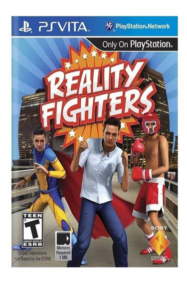 Jogo Reality Fighters Ps Vita Mídia Física Lacrado