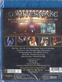 Whitesnake Made In Japan Blu Ray Disc 12 Tracks Italy 2013