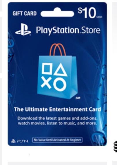 Playstation Network Card Cartão Psn $10 Dólares Usa