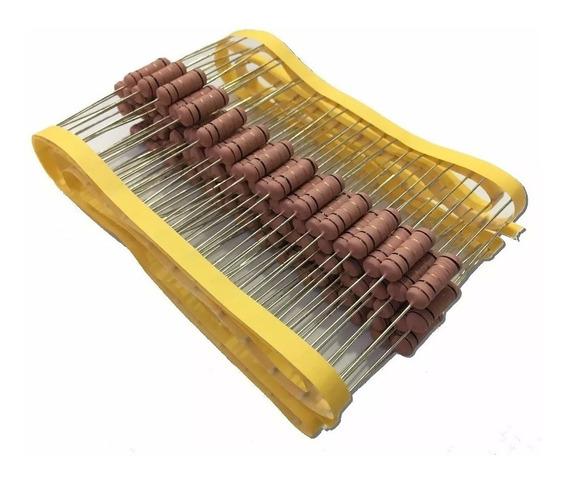 Resistor De Fio 1k 5w 5% - 100 Peças