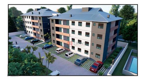 Apartamento Com 2 Dormitórios À Venda, 53 M² Por R$ 189.000,00 - Santa Fé - Gravataí/rs - Ap0691