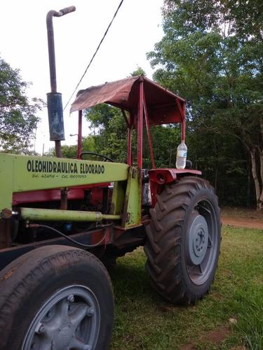 Tractor Con Pala Massey Ferguson 1980