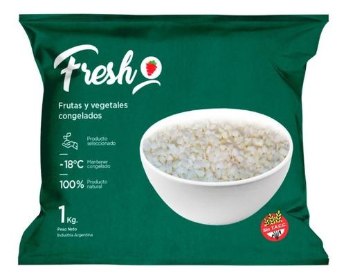 Cebolla Cubeteada Congelada Iqf Fresh X 1kg