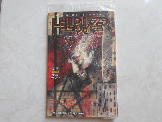 Hellblazer Origens Vol. 1 Panini Nova Edição
