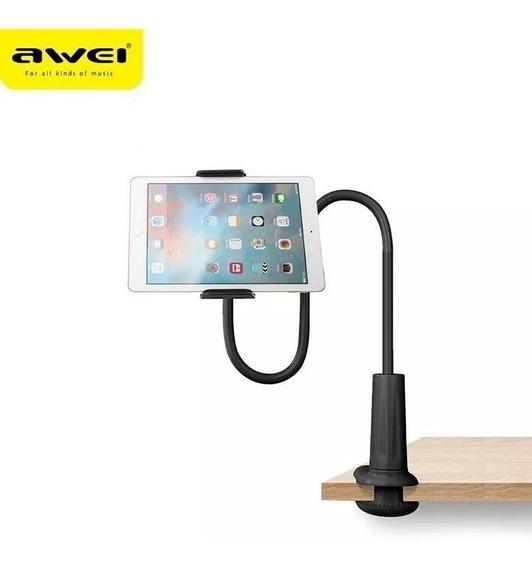 Suporte De Mesa Flexível P/ iPad/tablet/celular X3 Da Awei