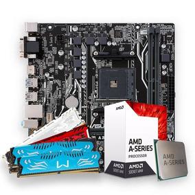 Kit Gamer A10-9700 +am4 A320m-hd Ddr4 + 4gb Mem Ddr4 C/nfe