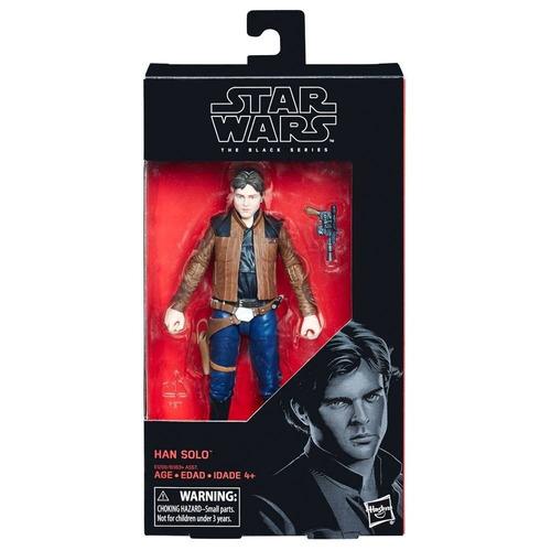 Imagen 1 de 3 de Figura Han Solo Movie Star Wars The Black Series