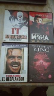 Coleccion Dvds Stephen King. 4 Titulos. Oferta!