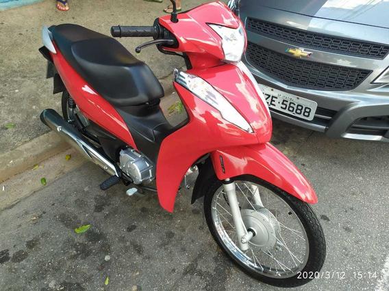 Bis Honda Vermelha Novíssima 2018 - 4.500km