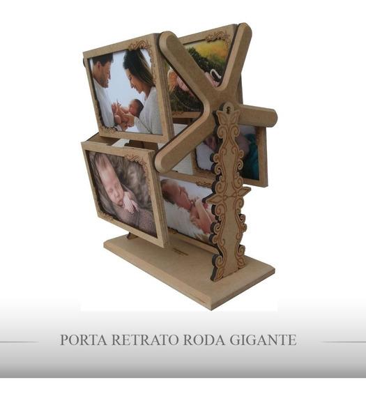 Porta Retrato Mdf Roda Gigante