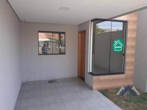 Imagem 1 de 29 de Casa Com 3 Dormitórios À Venda, 82 M² Por R$ 269.000,00 - Columbia - Londrina/pr - Ca1175