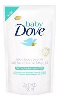 Dove Baby Jabon Liquido Humectacion Sensible X 180ml