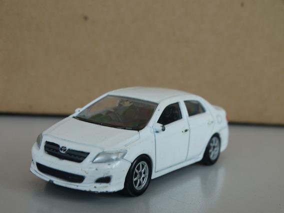 Toyota Corolla Branco - Welly - 1:60 - Loose