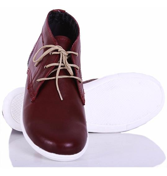 Botitas Urbanas Hombre En Cuero Model Marley De Shoes Bayres