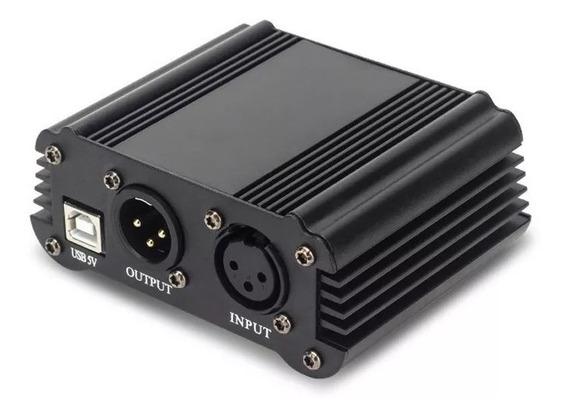 Phantom Power Fantom Power 48v Usb P/ Microfone Condensador