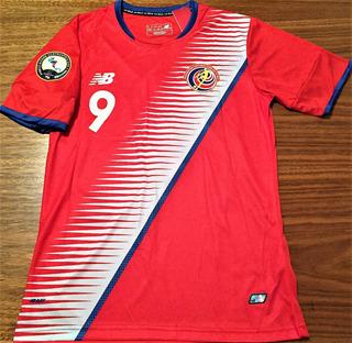 Camisa Costa Rica Copa Centroamericana 2017 Completa