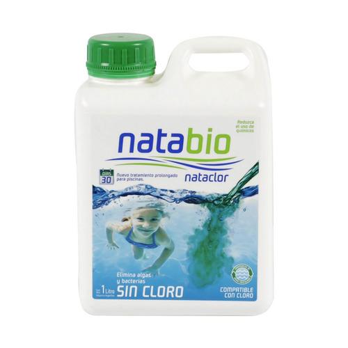 Natabio Tratamiento Para Pileta Sin Cloro 1 Litro Nataclor