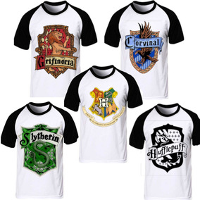 Kit 5 Camisas Camisetas Harry Potter Grifinória Hogwarts