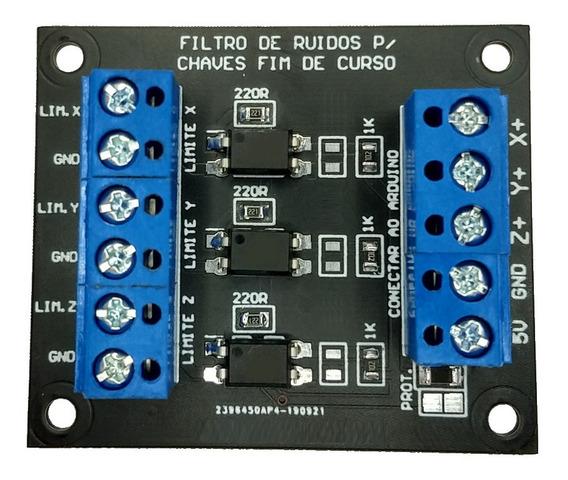 Filtro Fim Curso Arduino Cnc Caseira Atividade Maker