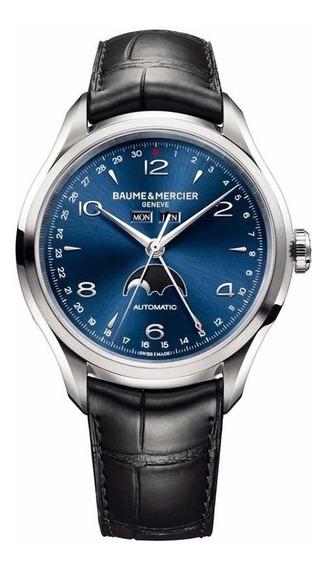 Reloj Baume & Mercier Clifton Automatico 10057 Fase Lunar