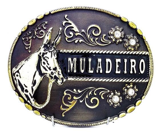 Fivela Muladeiro Country Cowboy Luxo Top P Cinto - Oferta!