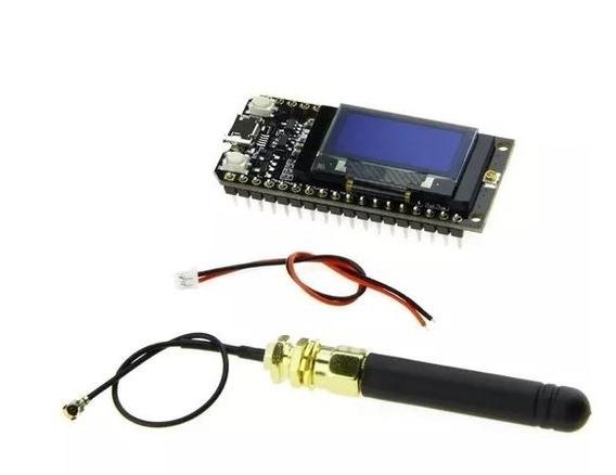 Esp32 Lora 915mhz Ttgo Wifi Bluetooth Antena Display Oled