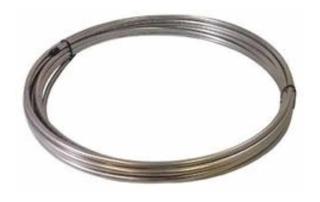 Tubo Aço Inox 3/8 Parede 0,60mm Serpentina Chiller Chopeira