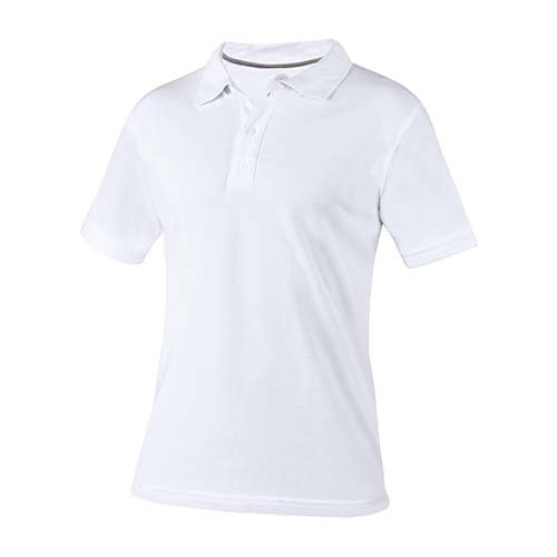 Playera Polo Lutry Blanco Extra Grande Para Imagen O Logo