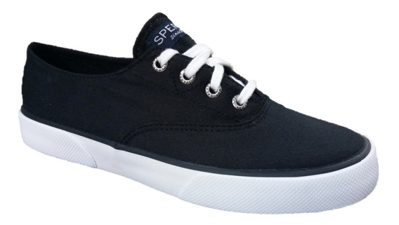 Tenis Sperry Pier Edge Sts97626 Originales Remate Black