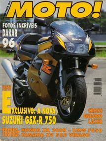 Moto! N°15 Suzuki Gsx-r 750 Honda Xr 200r Bmw F650 Xv Virago