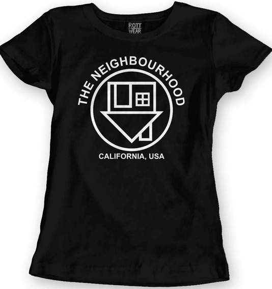 The Neighbourhood The Nbhd Blusa Dama Rott Wear M2
