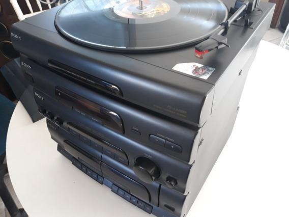 Sony Lbt-46w Rádio Tape Toca Discos