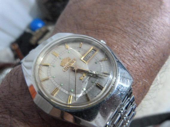 1 Relógio Orient Aut. Masc. Mod. F469948-6a 38 X 40 M/m