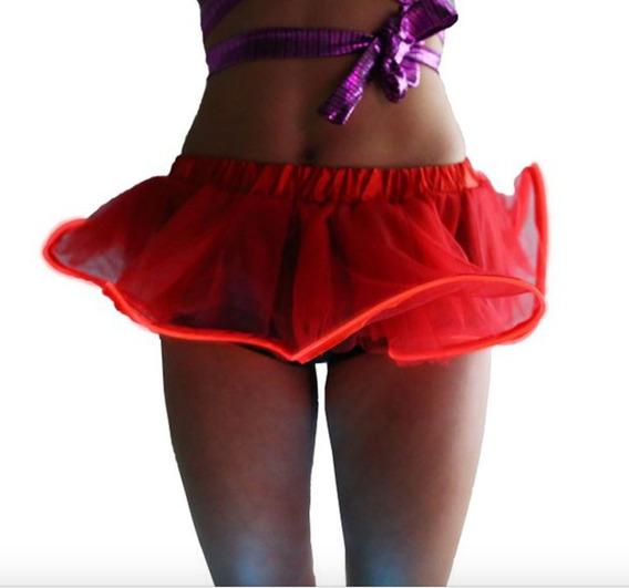 Mini Falda Led Baile Tutu Niña