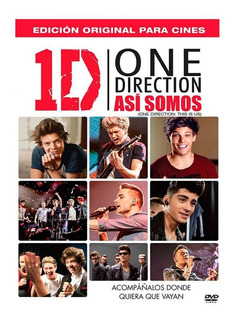 Dvd Pelicula One Direction - Asi Somos (this Is Us) Nuevo