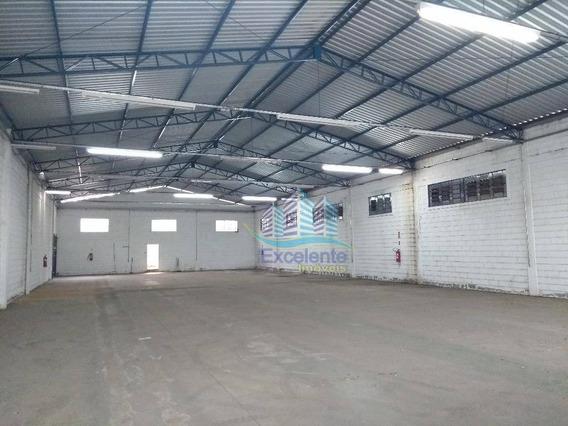 Galpão Industrial Para Locação, Jardim Boa Vista, Hortolândia. - Ga0016