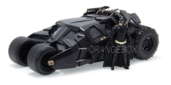 Batmóvel Tumbler + Batman The Dark Knight Jada Toys 1:24