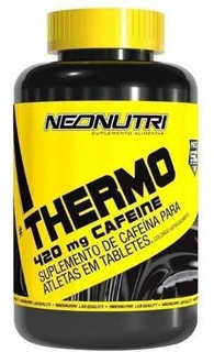 Thermo 420mg Cafeine 60 Tabletes
