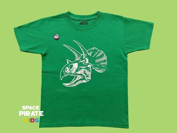 Playera Triceratops Jurassic Park - Space Pirate