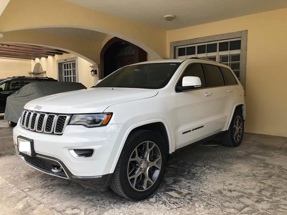 Jeep Grand Cherokee Sterling 25 Aniversario V6 2018 Blanca