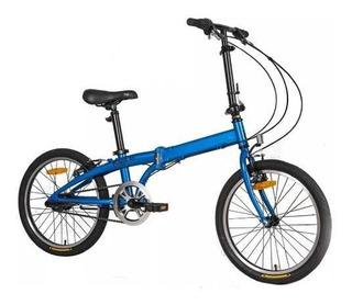 Bicicleta Plegable Aluminio Yoga Philco Rodado 20 Cuotas