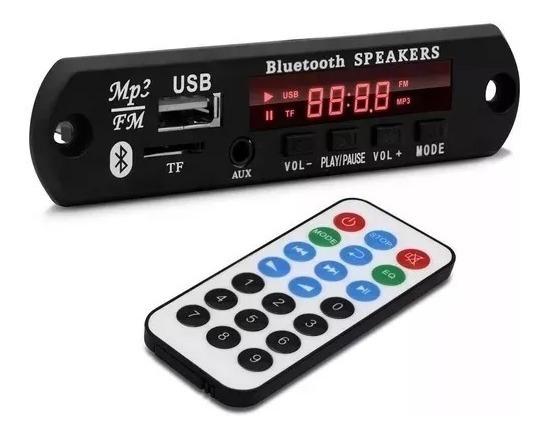 Placa P/ Caixa Ativa Leitor De Usb Mp3 Bluetooth Aux P2fron