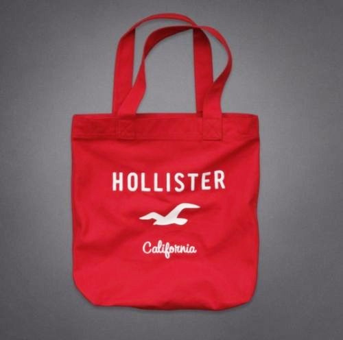 Bolsa Hollister By Abercrombie 100% Original Red
