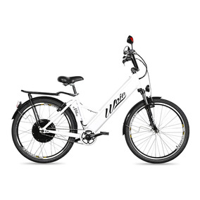 Bicicleta Elétrica Woie Silver Fabricada No Brasil - Branco