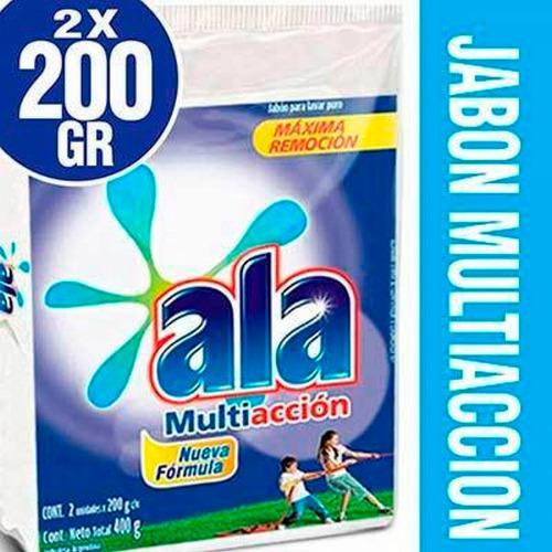 Jabon En Pan Ala Multiaccion 2 Unidades X 200 Gramos